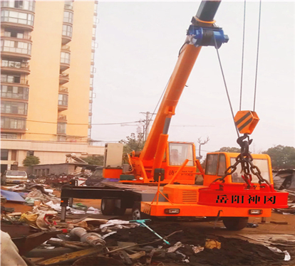MW5系列起重电磁铁使用现场(带视频)