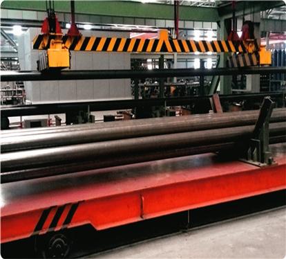 MW25系列起重电磁铁使用现场