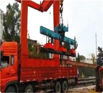 MW12系列起重电磁铁使用现场(带视频)
