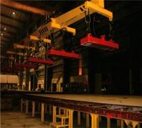 MW84系列起重电磁铁使用现场(带视频)
