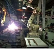 MW04起重电磁铁机器人系列使用现场(带视频)