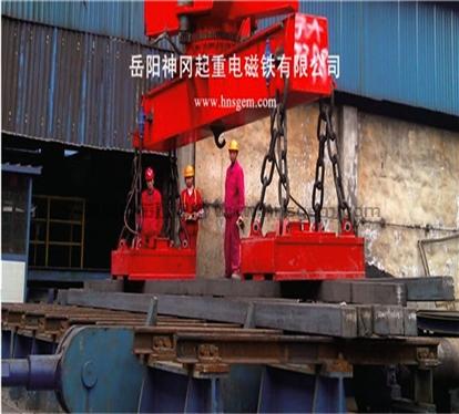 MW27系列重轨、钢管吊运用起重电磁铁