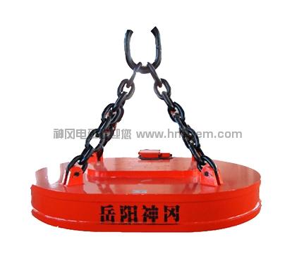 MW61系列吊运废钢用起重电磁铁