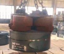 MW26吸吊立卷系列钢带卷吊运用起重电磁铁